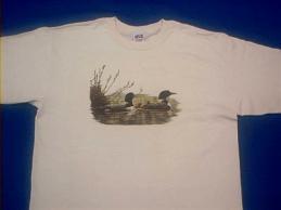 loon birds t shirt
