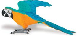 macaw toy blue gold macaw miniature replica
