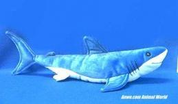 mako shark plush stuffed animal toy
