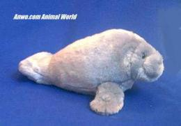 manatee plush stuffed animal aurora toys