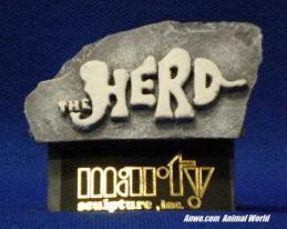 marty herd stone display