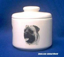 mastiff jar porcelain