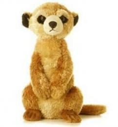 meerkat plush stuffed animal toy aurora