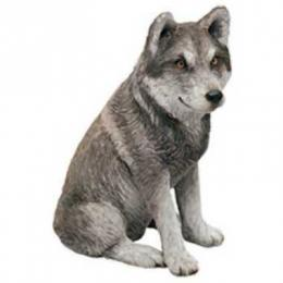 mexican wolf figurine sandicast ms507