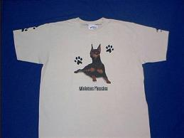 miniature pinscher t shirt