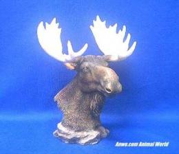 moose head figurine