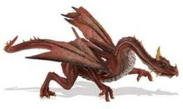 mountain dragon toy miniature replica
