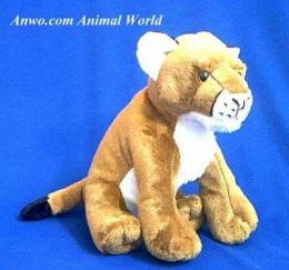 mountain lion plush stuffed animal cuddlekins