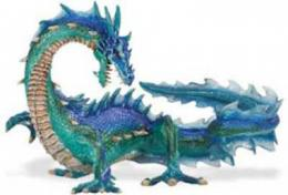 mythical sea dragon toy miniature