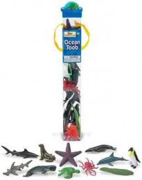ocean toy tube assortment