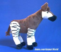 okapi plush stuffed animal  toy fiesta