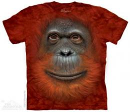 orangutan t shirt big face