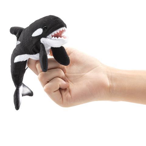 Orca Killer Whale Finger Puppet