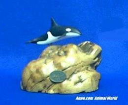 orca whale figurine statue john perry