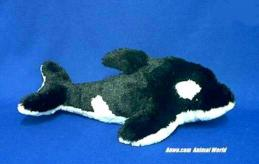 orca whale plush stuffed animal toy aurora