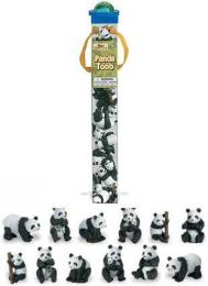 panda toys tube assortment