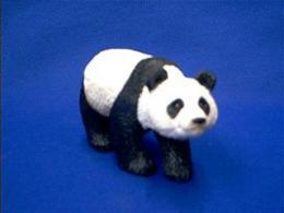 panda figurine sandicast