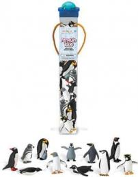 penguin toys tube assortment