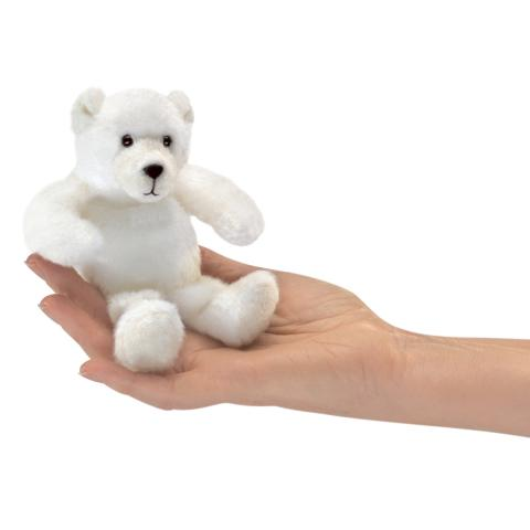 Polar Bear Finger Puppet