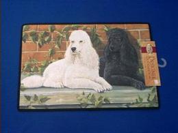 poodle doormat welcome mat