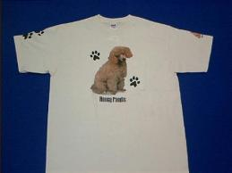 poodle honey t shirt