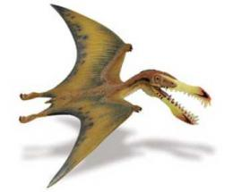 pterosaur toy dinosaur miniature replica