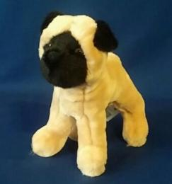 pug plush stuffed toy animal punky