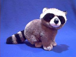 raccoon stuffed animal plush