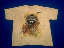raccoon t shirt