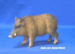 razorback figurine wild boar statue
