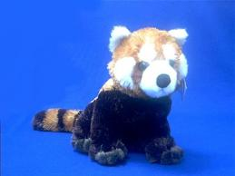red panda plush stuffed animal