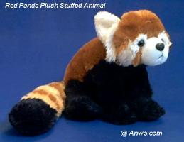 red panda plush stuffed animal cuddlekins
