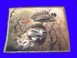 red tailed hawk blanket