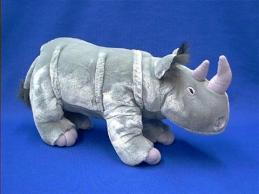 rhino stuffed animal plush