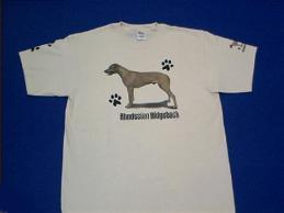 rhodesian ridgeback t shirt