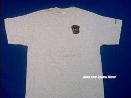 rottweiler t shirt face