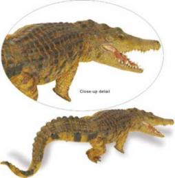 saltwater crocodile toy miniature replica