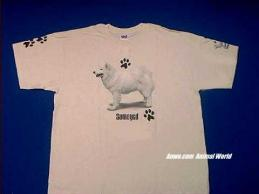 samoyed t shirt usa