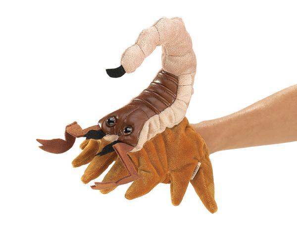 scorpion puppet plush