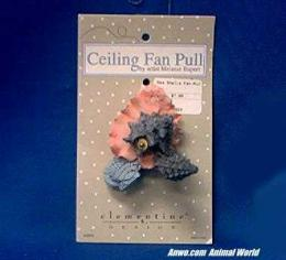 sea shells ceiling fan pull