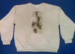 sea turtles sweatshirt beach usa