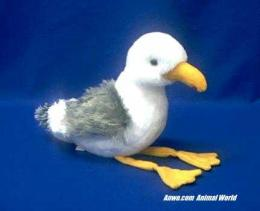 seagull plush stuffed animal seymour