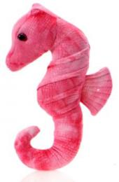 seahorse plush stuffed animal pink
