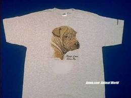 shar pei t shirt hang loose