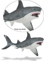 great white shark toy safari