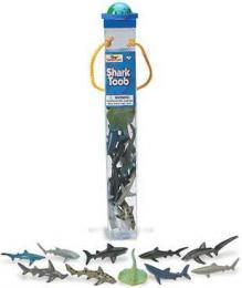 shark toy tube safari toob