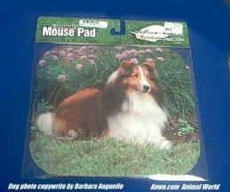 shetland sheepdog mousepad sheltie