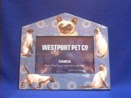 siamese cat picture frame