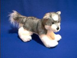 siberian husky plush stuffed animal joli