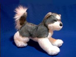 siberian husky plush stuffed animal sasha
